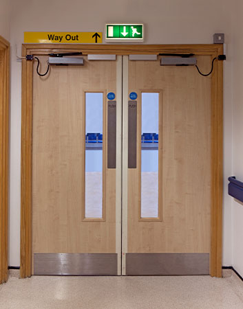 Automated and Powered Opening Doors & Automated Fire Doors | Prestige Fire Door Services