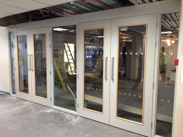 Panelling and Insulating Screens for Fire Doors Solid and Glazed & Fire Door Panelling   Prestige Fire Door Services