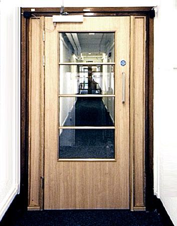 Vision Panel Fire Doors Prestige Fire Door Services