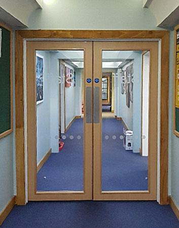 Glazed Fire Doors